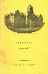 Jewish Orphan Home, Cleveland, Ohio 1977 Alumni Directory