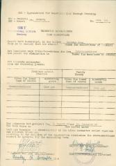 Vocational School - Term Certificate