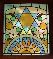 20th Century Stained Glass Window
