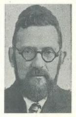 Photograph of Rabbi Mendel M. Hochstein, Rabbi of Ansche Sholom Congregation (Cincinnati, Ohio) from 1921 - 1932