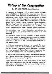 Brief Historic Summary of New Hope Congregation (Cincinnati, Ohio)