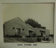 Photograph of the 6442 Stover Avenue Location of Golf Manor Synagogue (Cincinnati, Ohio)