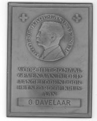 """Dr. Karl Landsteiner """"Father of Blood Groups"""" Plaque"""