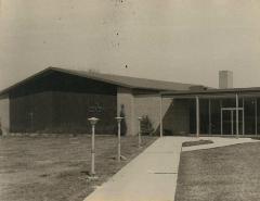 Photographs of Temple Sholom Sanctuary Construction 1959 (Cincinnati, OH)