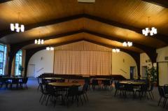 Temple Sholom Frish Hall Interior Photographs
