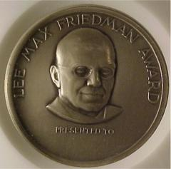 Lee Max Friedman / American Jewish Historical Society Medal