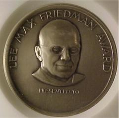 Lee Max Friedman / American Jewish Historical Society Medal