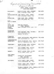 Report of Adath Israel Sisterhood Nominating Committee (Cincinnati, OH) 1991-1992