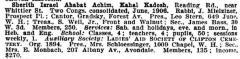 io of Congregation Sherith Israel (Cincinnati, Ohio) from the American Jewish Year Book 1907 – 1908, 5668