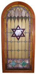 1947 Stained Glass Door