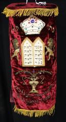 20th Century Torah Mantle