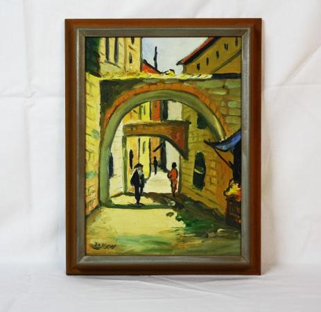 Painting from Milton Orchin's Personal Collection
