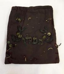 Maroon Tefillin Storage Pouch from Golf Manor Synagogue