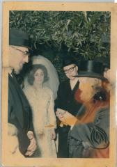 Picture of Rabbi Eliezer Silver at Unidentified Wedding