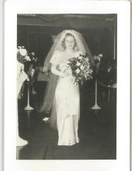 Photographs of the Wedding Rabbi Eliezer Silver's Son, Nathan Silver to Lillian Slutsky on October 18, 1939
