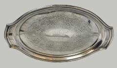 Silver Tray Presented to Milton Orchin on his Retirement as Head of the University of Cincinnati Chemistry Department, 1962