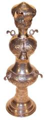 Sterling Silver Torah Finial (Rimmonim)