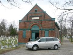Pictures of the Sherith Israel Congregation Cemetery Chapel Building (Cincinnati, OH)