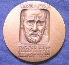 Medal Commemorating Doctor Janusz Korczak and the 100th Anniversary of his Birth in 1978