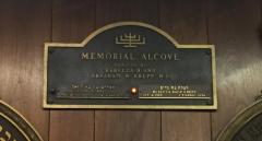 Congregation Anshei Sfard's (Louisville, KY) Memorial Alcove at the Dutchman's Lane Location
