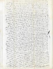 Handwritten letter by Rabbi Eliezer Silver (untranslated)