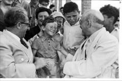 Henry Fenichel with Chaim Weizmann