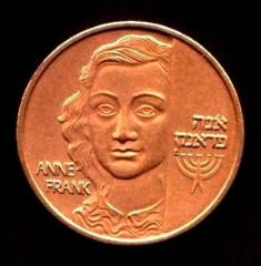 Anne Frank / Remember the Holocaust Medal