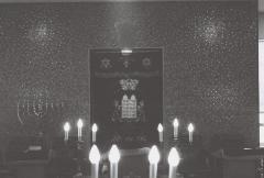 Photographs of the Interior of New Hope Synagogue
