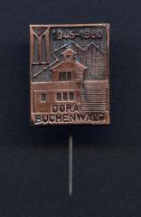 Dora / Buchenwald 35th Anniversary of Liberation Pin - 1980
