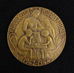Belgian Children's Holocaust Medal - 1945