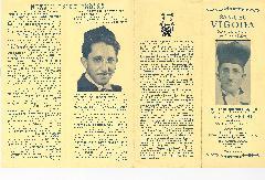 Advertisement for Samuel Vigoda, World Famous Cantor and Concert Singer