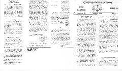 Congregation New Hope Rosh HaShanah bulletins - 1968, 1971, 1973, 1974, 1975 & 1976