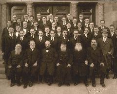 Graduation Picture of Rabbi Hyman J Cohen from Rabbi Isaac Elchanan Theological Seminary - Yeshiva University