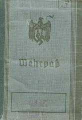 Wehrpass Passport