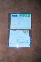 Photo Envelopes Addressed to Franz Blumenstein