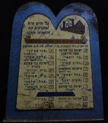 Bnei Akiva Tzedakah / Charity Box