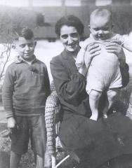 Photo Young Werner Coppel and Family