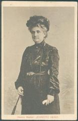 Postcard of Jeanette Herzl, the Mother of Theodor Herzl