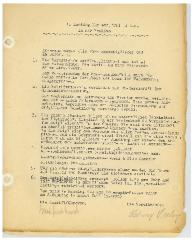 New Hope Congregation Sisterhood Meeting Minutes: 1941 - 1947