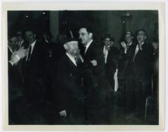 Rabbi Eliezer Silver Dancing at Unknown Wedding