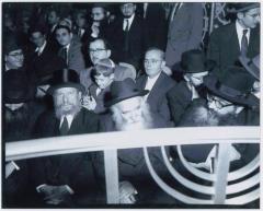 Rabbi Eliezer Silver, Rabbi Aharon Kotler and Rabbi Yitzchak Hutner at Unidentified Event