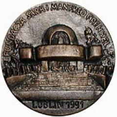 Medal Commemorating the Memory of the Jewish People of Lublin and the Surrounding Area Who Perished During the Shoah (Holocaust)