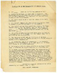 Constitution of the Congregation Kneseth Israel - 1918 Version
