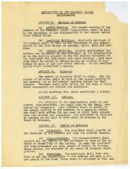 Regulations of the Kneseth Israel Congregation (Cincinnati, Ohio) - 1922 Version