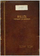 Hillel Jewish Student Center Organizational Scrapbook for 1447 - 1956