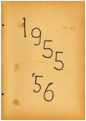 University of Cincinnati Hillel Foundation Archive Documents 1955-1956