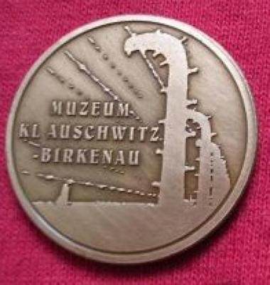 Medal Commemorating 60th Anniversary of the Liberation of the Concentration Camp Auschwitz - Birkenau Front/Obverse