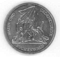 Buchenwald East German 1972 10 Mark Coin