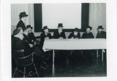 Rabbi Eliezer Silver at the Wedding of Rabbi Yitzchak (Isadore) Twersky and Atarah Soloveitchik in Boston