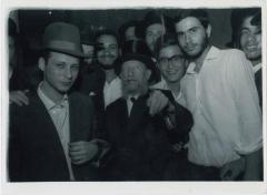 Rabbi Silver Walking with Yeshiva Boys